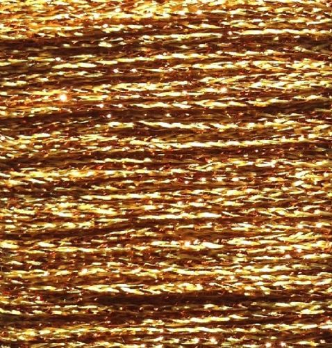 Gold Rush Metallic Glitter Thread 10m Gold
